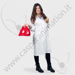 Costume Dottoressa Peluche