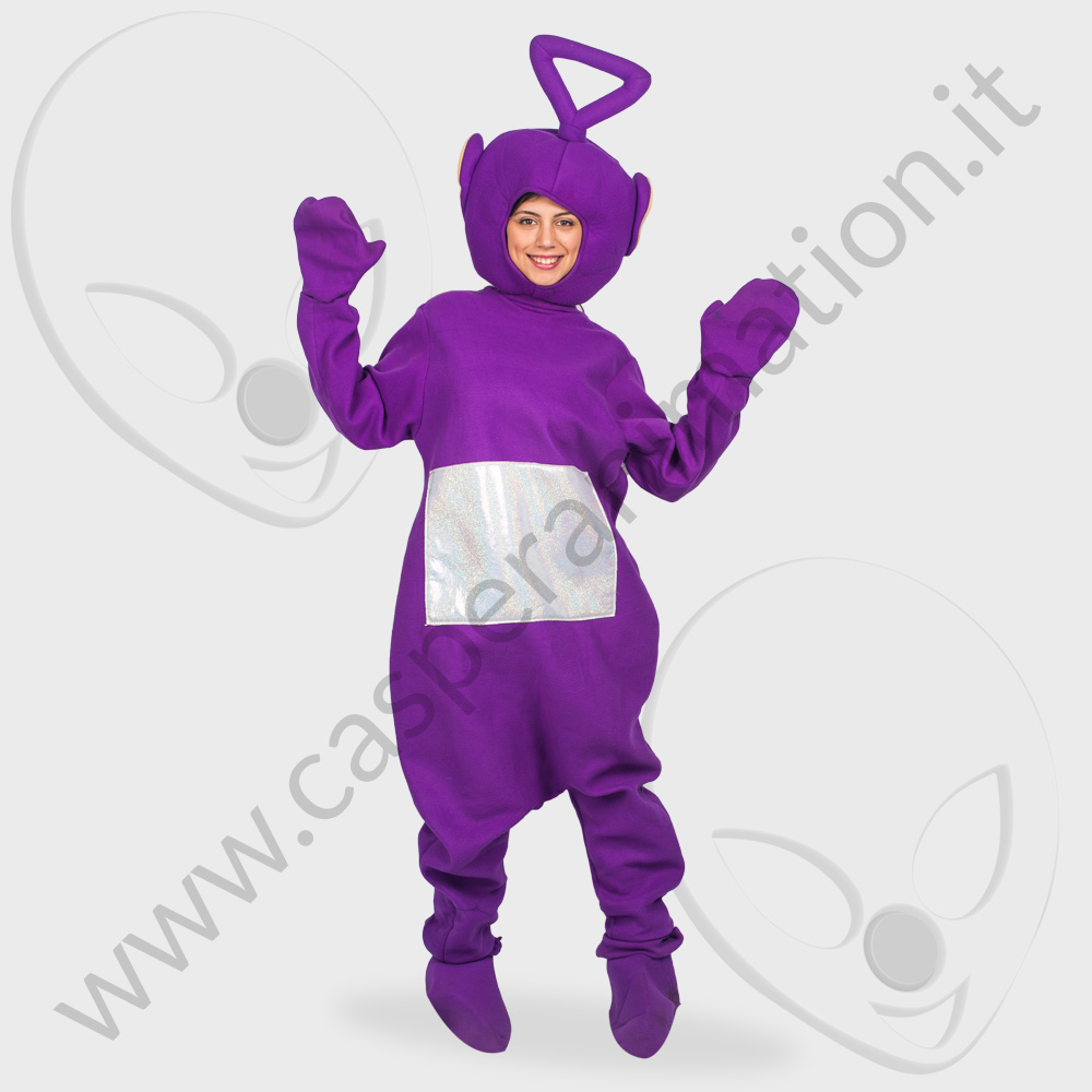 Costume Teletubbies viola tinky winky