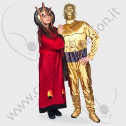 Costume Star Wars C3BO e Principessa Amidala