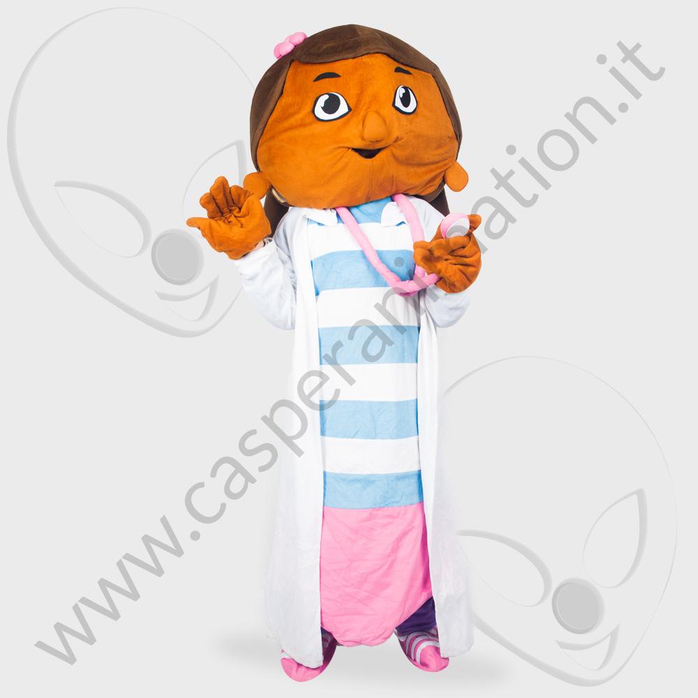 Mascotte Dottoressa Peluches
