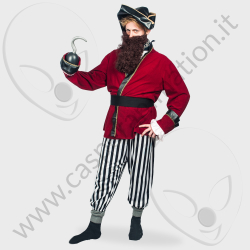 Costume Pirata Capitan Uncino