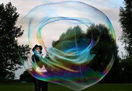 Spettacolo delle bolle giganti (compreso nel pacchetto)