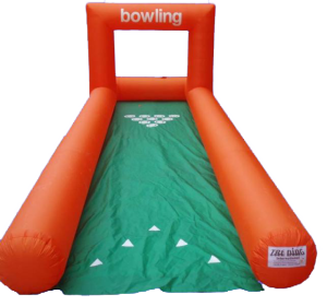 Bowling gonfiabile (extra pacchetto €20)