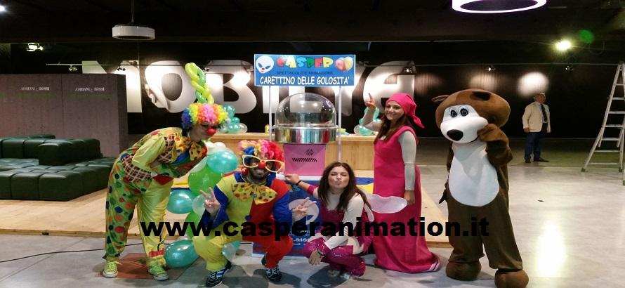 Animazione centro commerciale