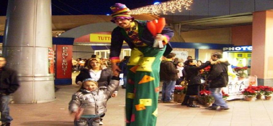 Animazione Carnevale Auchan