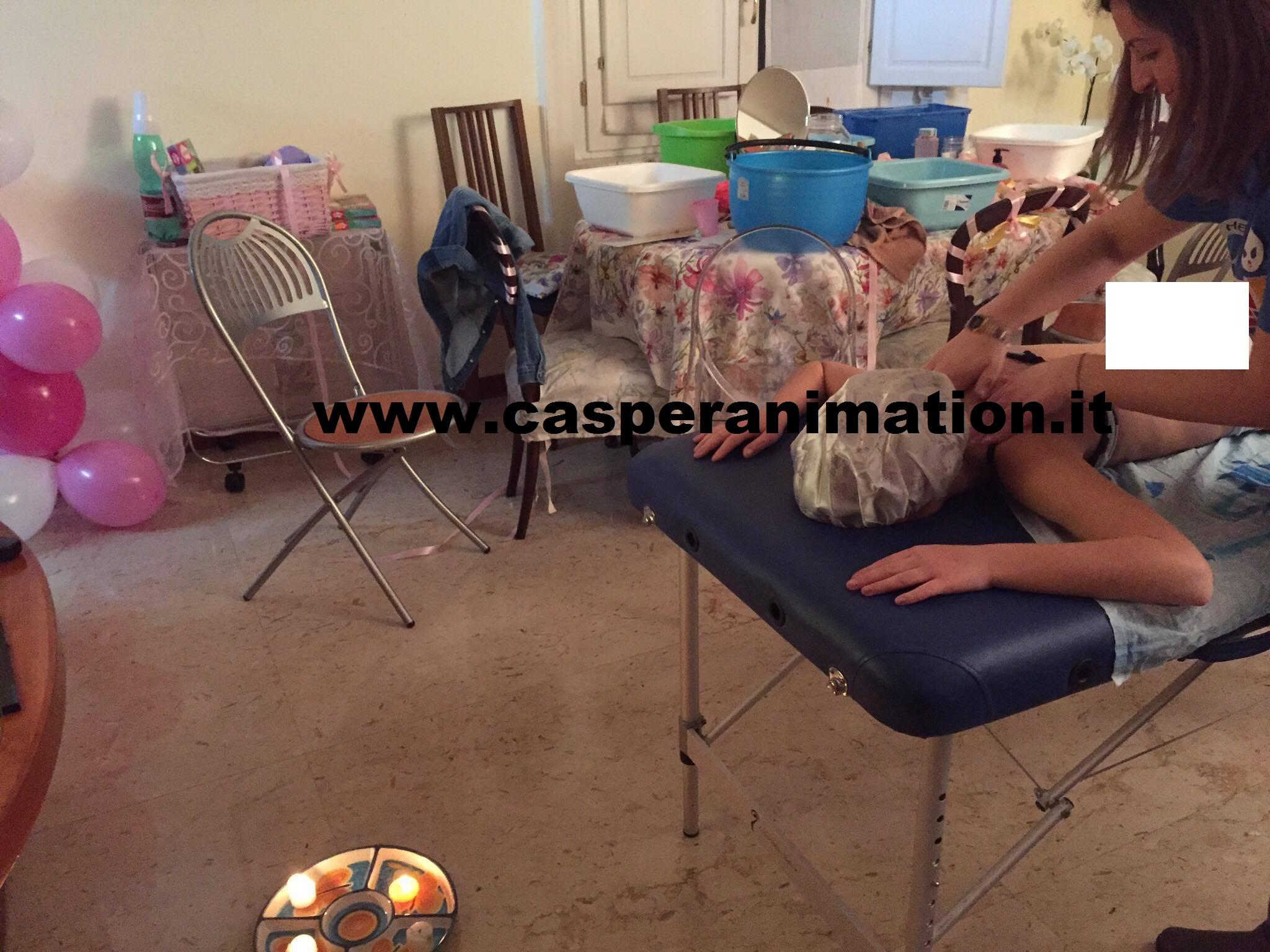 Festa SPA massaggio