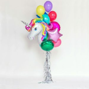 unicorn mylar addobbi